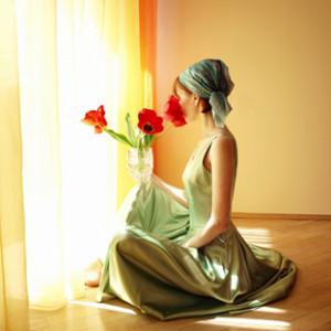 kobieta-kwiaty